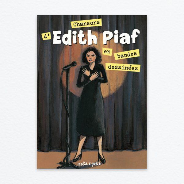 Les chansons d'Édith Piaf - Couv