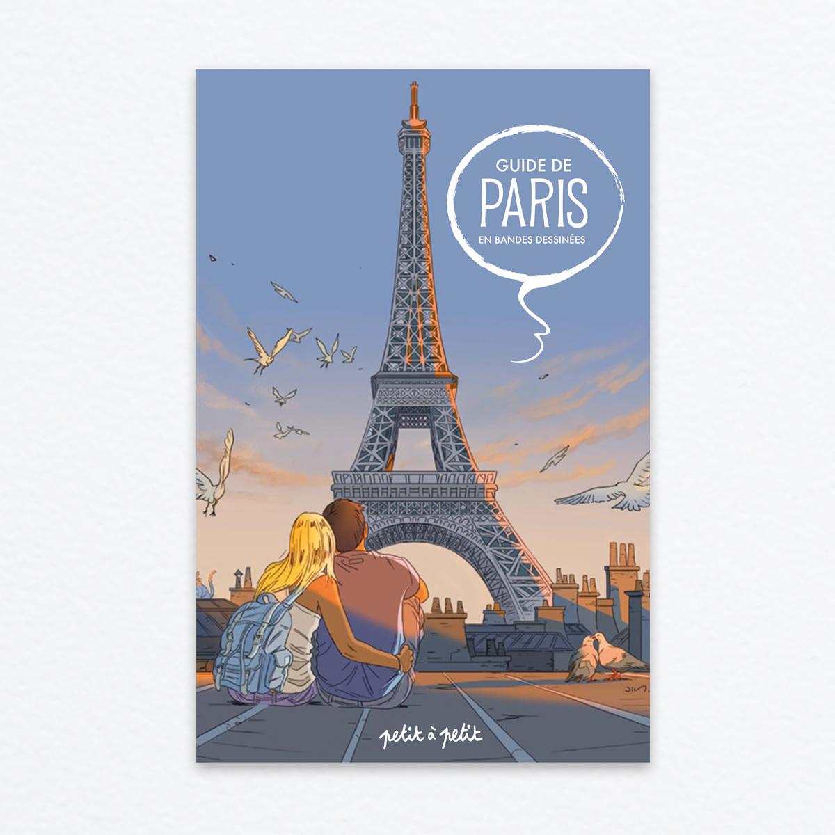 Guide de paris en bandes dessin es ditions petit petit for Lieux touristiques paris