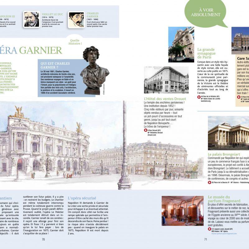 Opéra Garnier, Guide de Paris en BD, Éditions Petit a Petit