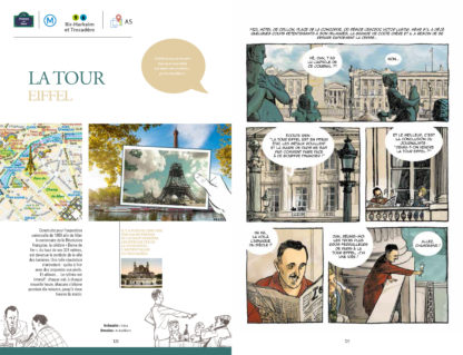 La Tour Eiffel, Guide de Paris en BD, Éditions Petit a Petit